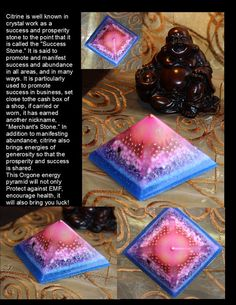 Orgonite Pyramid orgone generator Positive energy by GloriousTymes