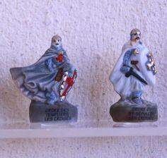 Les Croisés - Fèves des gâteaux de Rois -9 figurines - Peint à la main…