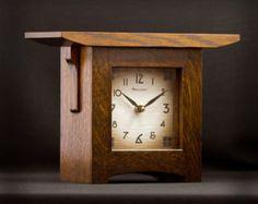 Craftsman Style Mantel Clocks | Craftsman Style Mantel Clock                                                                                                                                                                                 More