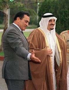 Stock Pictures, Old Pictures, Stock Photos, Ksa Saudi Arabia, President Of Egypt, Hosni Mubarak, Saudi Arabia Culture, Hair Wrap Scarf, Old Egypt