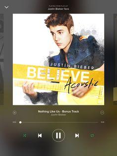 JB-Nothing like us- acoustic
