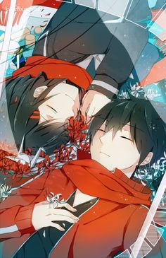 Ayano & Shintaro | Mekakucity Actors #anime