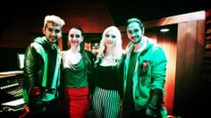 Bill and Tom with Marie and Lauren/ Bill e Tom com Marie e Lauren;