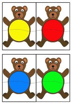 Color sorting and matching activities Autism Activities, Toddler Learning Activities, Montessori Activities, Color Activities, Preschool Worksheets, Kindergarten Activities, Educational Activities, Teaching Colors, Color Games