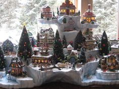 Cheri's Rudolph village by 56th and Main, via Flickr