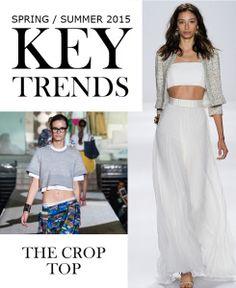 Trend Alert: The Crop Top  Must Have Trends for Spring / Summer 2015 | Be. Daze. Live.