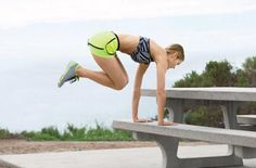 Do-Anywhere Moves | Bunny Hops: Works core, shoulders