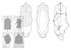 Fashion Sketchbook - fashion design development; dress drawings; line up; fashion portfolio // Niall David James