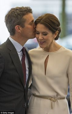 Just the two of us: The Danish Royal couple have barely left each other's side during thei...