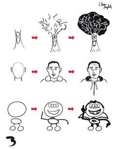 Dibujando en 3 pasos -3