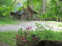 Leave No Trace - Cozy Furnished Log Cabin in WoodsVacation Rental in Woodstock from Mountain Living, Cabins In The Woods, Cabin Rentals, Home And Away, Woodstock, Vermont, Acre, Ideal Home, Cozy