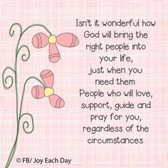 Uplifting and inspiring prayer, scripture, poems & more! Discover prayers by topics, find daily prayers for meditation or submit your online prayer request. The Words, Praying For Friends, Thankful For Friends, Thankful Quotes, Thankful Heart, Blessed Quotes, Sisters In Christ, Soul Sisters, Super Quotes