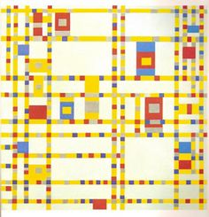 Piet Mondrian - - makes me happy