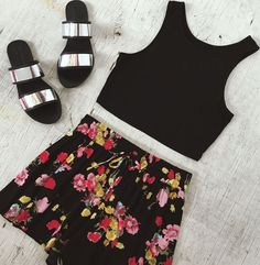 Love the bloom shorts!