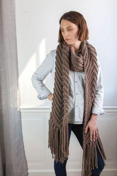 Chevron Scarf - Crochet To Calm