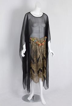 1920s clothing at Vintage Textile: #2270 evening dress