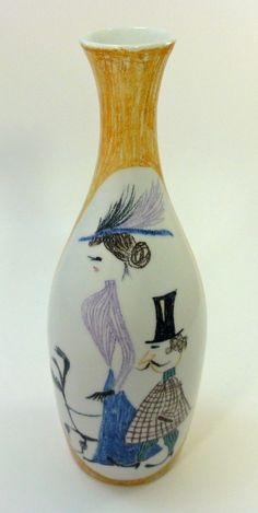 vase, producer unknown, possibly Quadrifoglio Florence