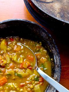 Soupe marocaine aux lentilles – Coco & Petit Pois