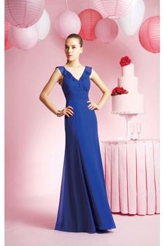 This in lavender. Chiffon full length from dresshope.co.uk