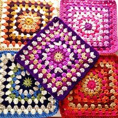 Chunky granny stash bag free pattern Crafternoon Treats