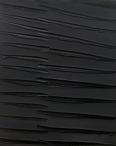 French modern artist Pierre Soulages.