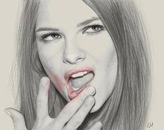 An Incredible Collection of Portrait Illustrations by Kei Meguro