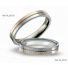 His Hers Mens Womens Matching Two Tone Gold Wedding Bands Rings Set Wide Sizes Free Engraving New By TallieJewelry On Etsy
