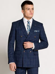 Navy Suits | Wedding, Business and Occasions | Slater Menswear Prom Suit Uk, Prom Suits 2019, Prom Suits For Men, Mens Suits, Navy Suits, Prom For Guys, Pinstripe Suit, Three Piece Suit