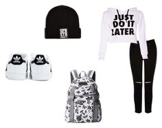 """back to school #2"" by destinyxx8 on Polyvore featuring Oasis and adidas"