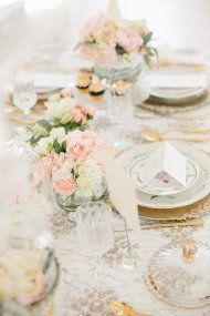 Romantic Victorian Wedding Inspiration from Etablir + Kristen Booth | Style Me Pretty