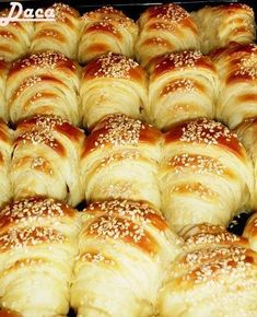 A lovely, delicious recipe of the authenti… Bosnian Recipes, Croatian Recipes, Sugar Free Recipes, Sweet Recipes, Gourmet Recipes, Baking Recipes, Kiflice Recipe, Tasty Pastry, Bread Dough Recipe