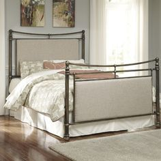 Signature Design by Ashley Metal Panel Bed & Reviews | Wayfair