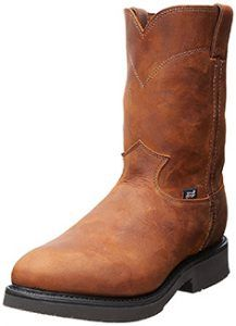60ed8fad2a42f2 Justin Men's Original Work Boot Steel Toe Steel Toe Boots - Rated Astm  Class 75 - (The Best Available Impact And Compression Strength) Electrical  hazard ...