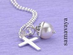 Konfirmation Kommunion Kette LYHO CROSS 925 Silber