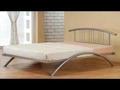 Wondrous Nova Metal Double Bed Frame for Residence Cozier Steel Bed Design, Furniture, Bed Design, Bed Design Modern, Welded Furniture, Bed Frame, Modern Bed, Bed Furniture, Bed Frame Design