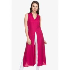 Buy Castle Purple Solid Front Slit Kurta online in India at best price. Classy and graceful is what you will look in this purple kurta from Castle. Fashioned in rayon fabr