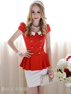 Vestido Slim Vermelho