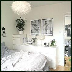 2135 Likes 28 Kommentare Jenny ( au… Neutral Bedroom Decor, Room Ideas Bedroom, Small Room Bedroom, Home Decor Bedroom, Ikea Bedroom Design, Bedroom Inspo, New Room, Room Inspiration, Bedrooms