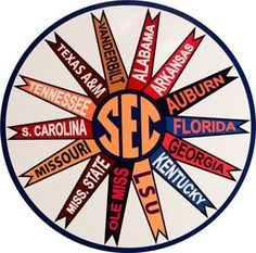 SEC  the only REAL college football conference.