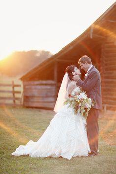 sunset portrait | Simply Bloom #wedding