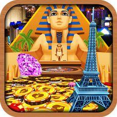 Kingdom Coins Lucky Vegas - Dozer of Coins Arcade Game