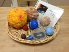 Solar System - Learning About Space, a great collection of activities from Trillium Montessori