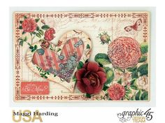 Here's another one I made with Graphic 45's Time to Flourish collection.