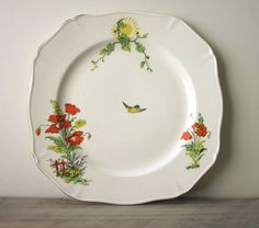 Humor Alfred Meakin Harmony Serving Plate Excellent Condition Pottery, Porcelain & Glass