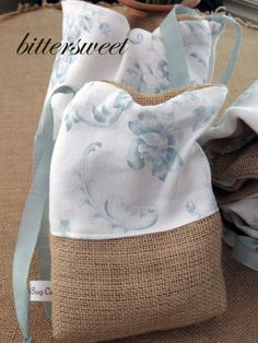 More Burlap Love - Bittersweet and the little soap company