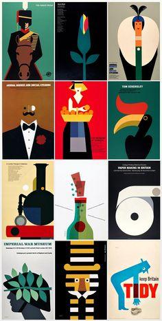 Tom Eckersley Vintage Graphic Design, Graphic Design Trends, Graphic Design Posters, Graphic Design Inspiration, Graphic Art, Simple Illustration, Graphic Design Illustration, Salford, Branding