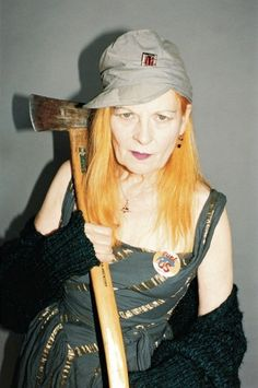 Why don't British politicians care about fashion? Vivienne Westwood, political activist and one of Britain's most acclaimed fashion designers, proves that style and substance aren't mutually exclusive: http://www.dazeddigital.com/fashion/article/24480/1/why-don-t-british-politicians-care-about-fashion