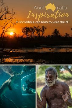 Northern Territory, Australia. Get a real Aussie Outback experience. From crocodiles to aboriginal rock art. Unique nature and culture in Australia.