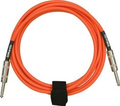 "DiMarzio Neon Overbraid Instrument Cable Orange 10 ft by DiMarzio. $30.99. DiMarzio Neon Overbraid Guitar and Instrument Cables are unsurpassed for connecting guitars, basses, and keyboards to amps. Exceptionally crisp, clear, quiet and durable, they outperform cables that cost much more. They've been called ""the new industry standard,"" and have successfully passed Guitar Player magazine's ""chop"" and ""jump rope"" tests as well as many other torture tests. These ..."