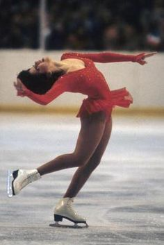 An Illustrated History of Figure Skating Clothes: Linda Fratianne Is Remembered For Introducing Glamorous Figure Skating Dresses
